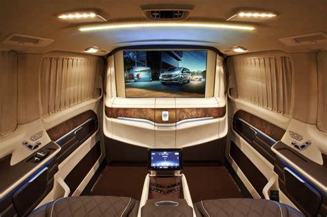 mercedes luxury v klasse klassen 174 car design