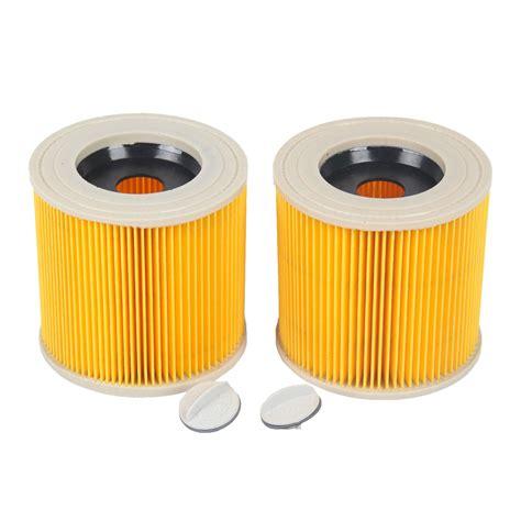Karcher Wd3 200 Vacuum Cleaner 2x cartridge filter for karcher mv2 wd2 200 wd3 500 a2504