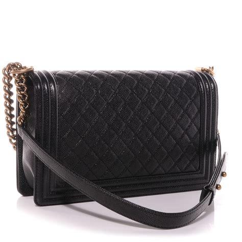 Chanel Boy Black Caviar 20 chanel caviar medium boy flap bag black 66039