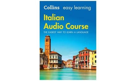easy learning italian audio 0008205663 collins italian audio course groupon goods