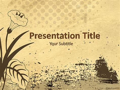 template ppt vintage free background powerpoint vintage jipsportsbj info