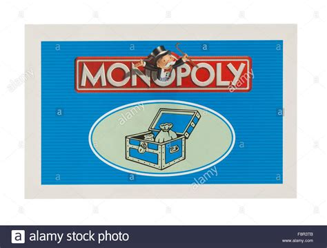 Monopoly Community Chest Cards Template by Edition Of Monopoly Showing Community Chest Card