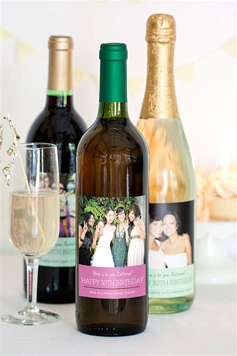 Milestone  Ee  Birthday Ee   Wine Labels Party Inspi Ion