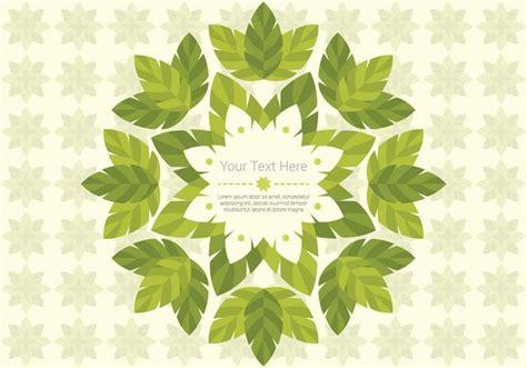 wallpaper vector daun green leaf daun hintergrund vektor kostenlose vektor