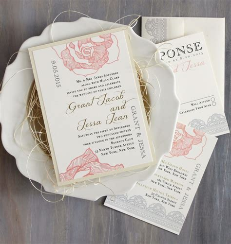 Wedding Invitation Idea by Unique Wedding Invitation Ideas Modwedding