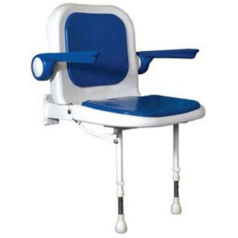 folding shower seat with arms folding shower seat with back arms