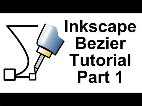 inkscape tutorial bezier curves bezier videolike