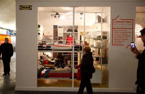 ikea flexible space op 233 ration ikea dans le rer un appartement station auber