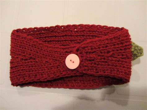 knitted headbands pattern with button you have to see knit headbands on craftsy