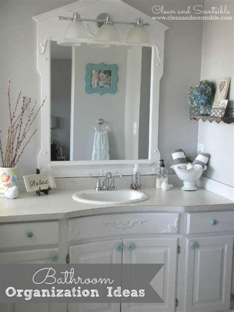 bathroom sink organization ideas the top organization projects of 2013 clean and scentsible