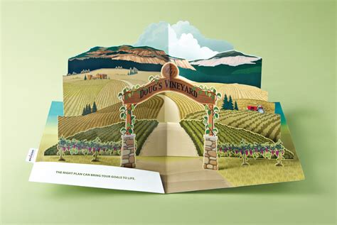 pop up envision financial pop up vineyard ads of the world