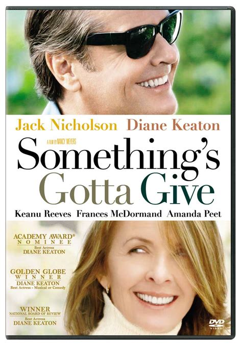 Somethings Gotta Give 2003 Review And Trailer by Critics Something S Gotta Give