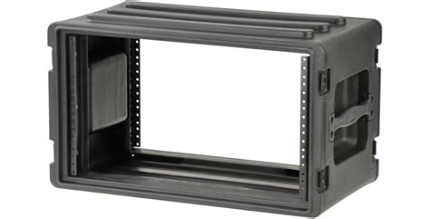 Shallow Rack by Roto Molded 6u Shallow Rack Skb Proav