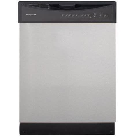 frigidaire 24 inch built in dishwasher with plastic tub in