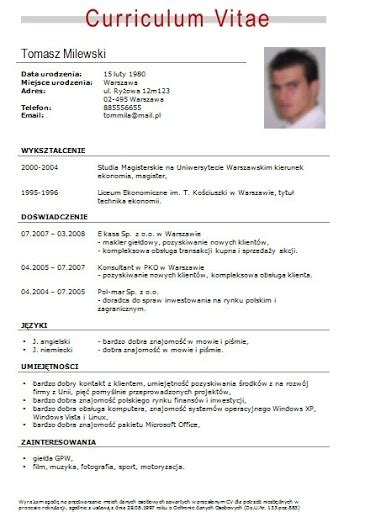 Modelo Curriculum Simple Para Trabajo Descargar Curriculum Vitae Formato Word Para Llenar Gratis The Knownledge