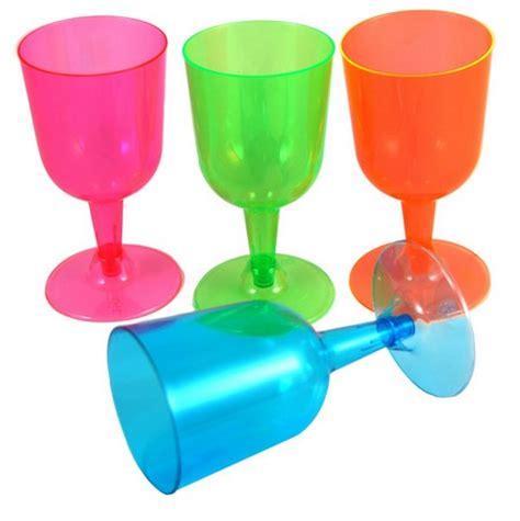 i bicchieri da vino bicchieri da vino colorati in plastica vegaoo it