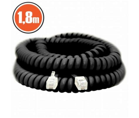 Kabel Spiral Telpon 5 M Rj 11 Telepon Telfon Cable 1m Jek Rj1 rj11 telefonk 225 bel 187 193 rg 233 p