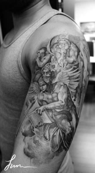 michelangelo tattoo michelangelo tattoos