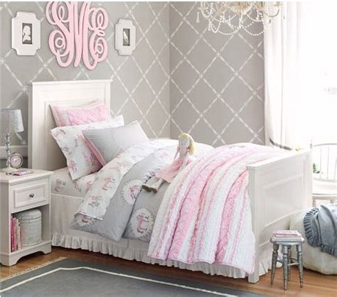 pastel comforters girls soft gray and pastel pink bedding emma s barbie