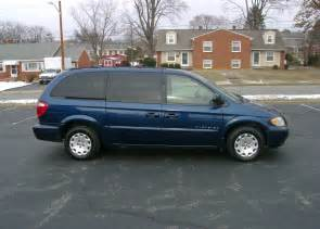 01 Chrysler Town And Country 2001 Chrysler Town Country 004 2001 Chrysler Town