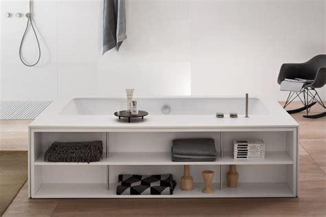vasca sottopiano vasca sottopiano freestanding con vano a giorno my style
