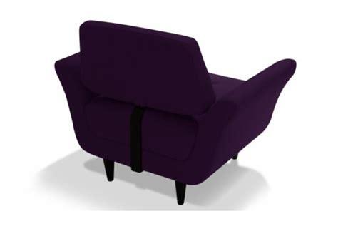 canapé en polyuréthane fauteuil en tissu ghotam design pas cher sur sofactory
