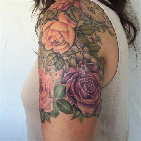 victorian rose tattoo merkaba tattoos page 1