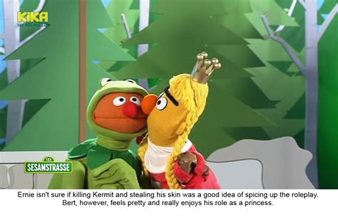 Bert And Ernie Do Roleplaying Sesame Street Know Your Meme