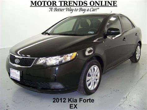 Kia Forte Gas Mileage 2012 Find Used 2012 Kia Forte Ex 4 Door Bluetooth Automatic
