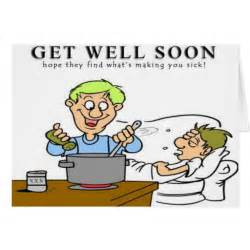 Funny get well soon card zazzle