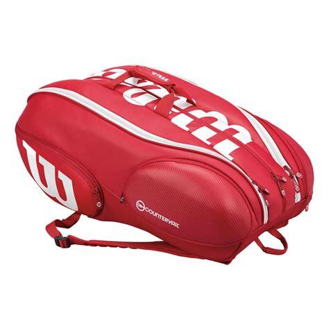 wilson pro staff 15 bag wilson tennis bags
