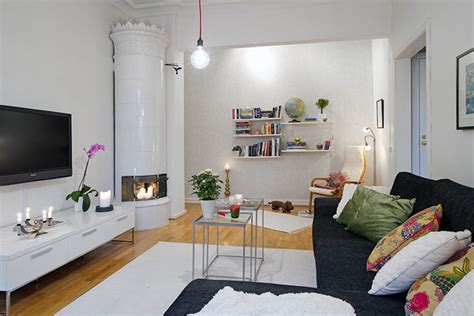 small apartment displaying clever design solutions in