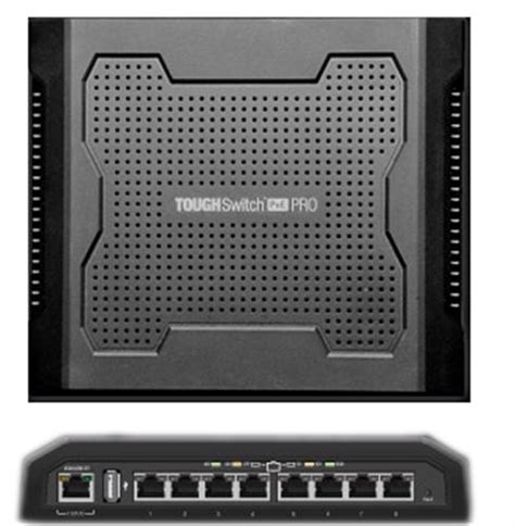 Ubiquity Tough Switch Poe Pro 8port Gigabit Ts 8 Pro Murah ubiquiti 8 port poe pro toughswitch ts 8 pro from solid signal