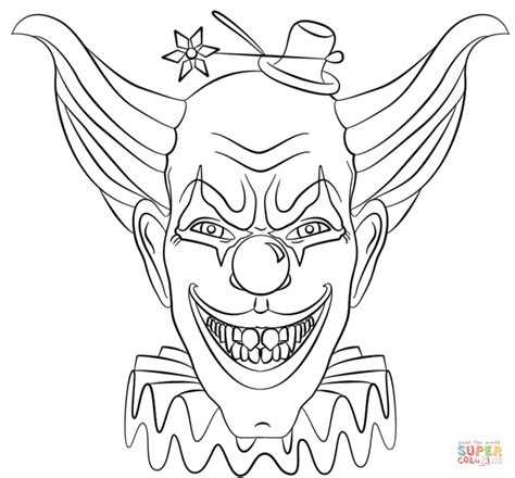 printable halloween scary pictures scary coloring pages printable coloring image
