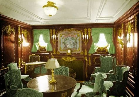 titanic room class suite sitting room titanic sitting rooms and