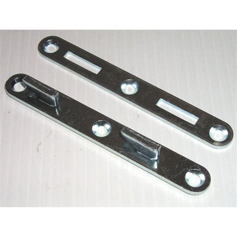 bed rail hooks bed rail connectors 5 quot double hook style steel