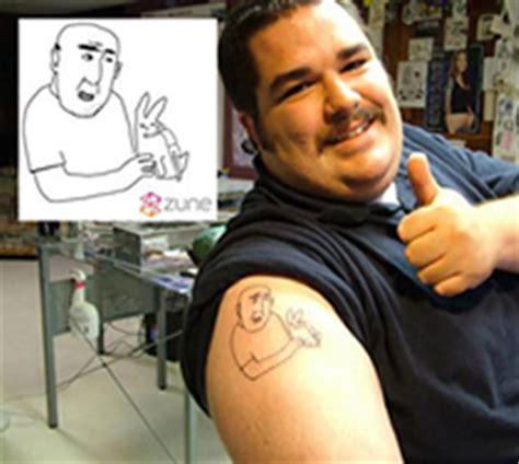 zune tattoo of the zune ars technica
