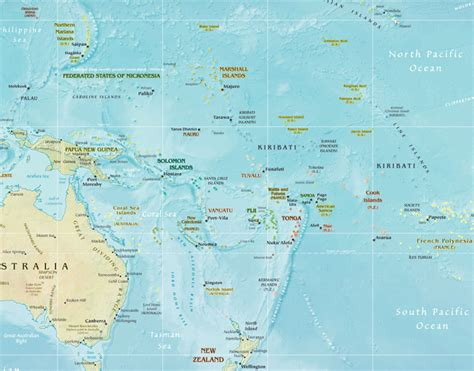 map of australia and islands australia and new zealand map map of new zealand map