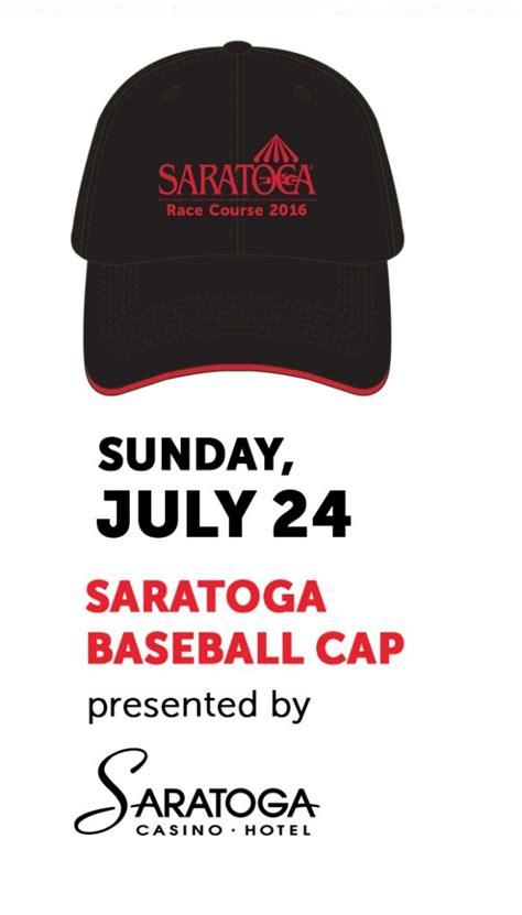 saratoga race course giveaways for 2016 shopportunist - Saratoga Raceway Giveaways