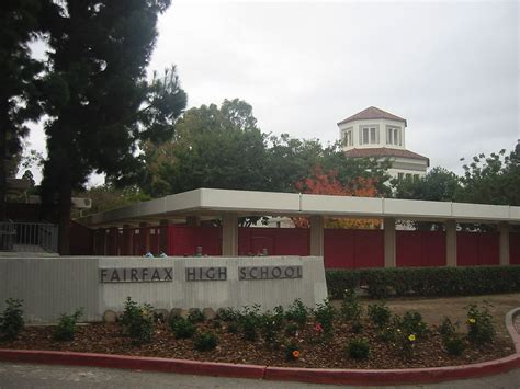 Lausd School Finder By Address Fairfax High School Los Angeles