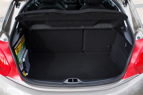 peugeot 208 trunk peugeot 208 1 0 review find out what we think carwow
