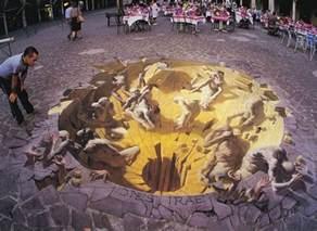 Street Art by Amazing 3d Street Arts Cuteomatic Com