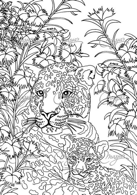 leopard color masja s leopards coloring page coloring pages