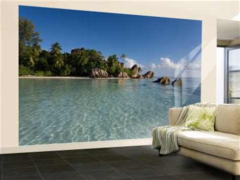 Tropical Wall Murals tropical murals to make you feel on holidays beach