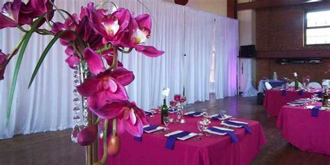 Royal Blue And Pink Wedding Decoration Ideas