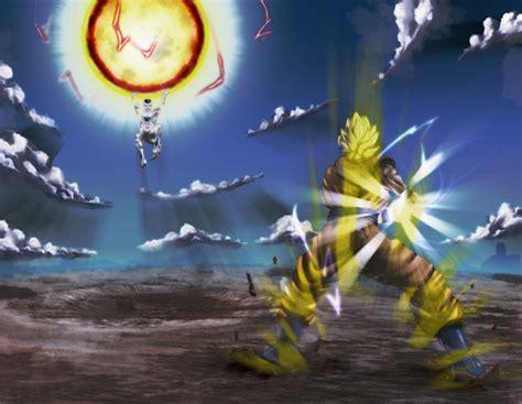 goku  freeza full hd papel de parede  background image  id