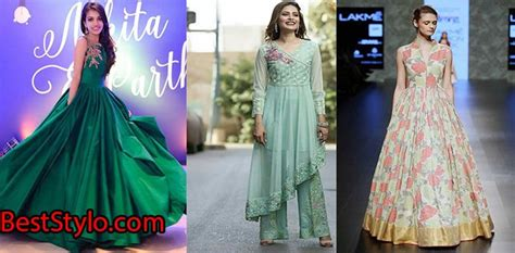 Latest Pakistani Party Dresses and Frock Designs 2018   BestStylo.com