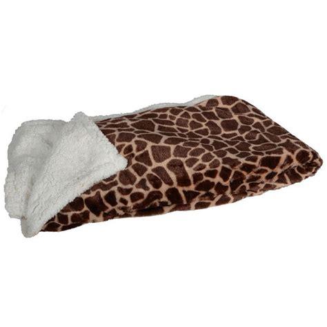 animal print sofa bed animal print giraffe blanket throw reversible home bed