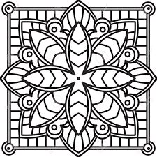 mandalas cuadrados fichas de primaria mandalas cuadrados