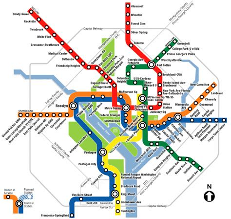 dc subway map cool transit maps architecture now
